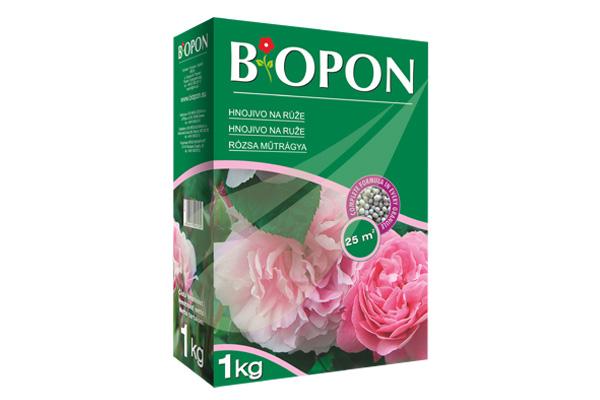 Kertbarátok Webáruház - BIOPON Rózsa szemcsés műtrágya