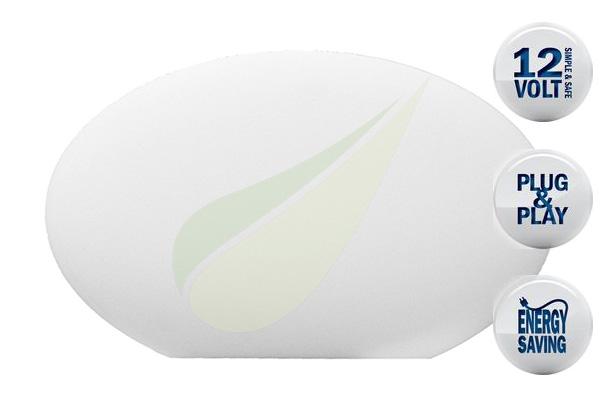 Kertbarátok Webáruház - TECHMAR Oval dekoratív RGB világítás