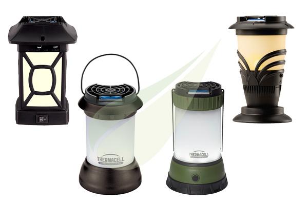 Kertbarátok Webáruház - THERMACELL Szúnyogriasztó lámpa Thermacell készülék