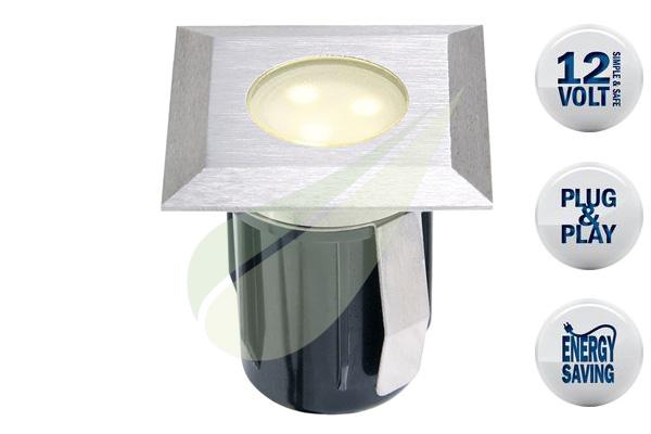 Kertbarátok Webáruház - TECHMAR Atria beépíthető lámpa 1