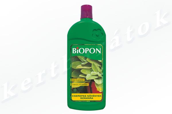Kertbarátok Webáruház - BIOPON Cserepes növény 1l folyékony műtrágya