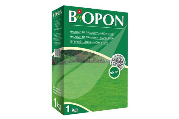 Kertbarátok Webáruház - BIOPON Gyep - moha stop 1kg szemcsés műtrágya