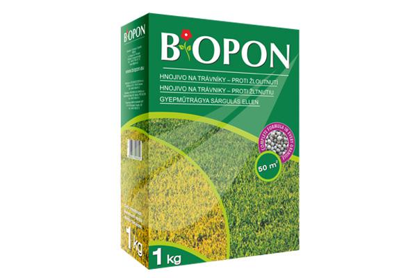Kertbarátok Webáruház - BIOPON Gyep - sárgulás ellen szemcsés műtrágya 1