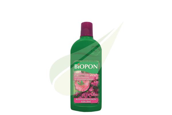 Kertbarátok Webáruház - BIOPON Rododendron és azálea 0,5l folyékony műtrágya