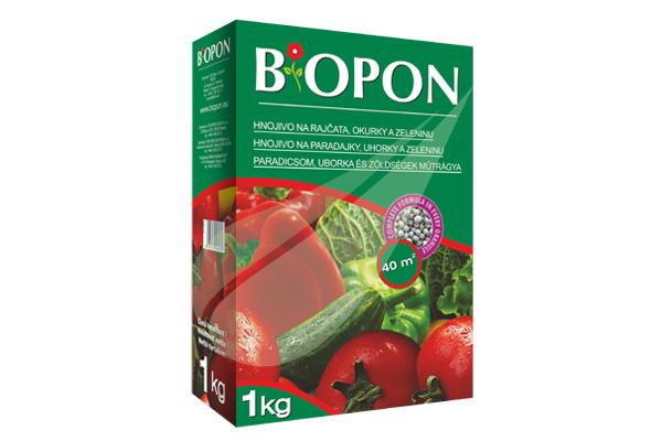 Kertbarátok Webáruház - BIOPON Paradicsom, uborka, zöldség 1kg szemcsés műtrágya