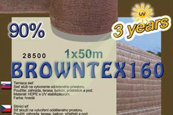 Kertbarátok Webáruház -  BrownTex árnyékoló háló 1x50m árnyékoló háló