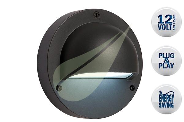 Kertbarátok Webáruház - TECHMAR Deimos Antracit fali lámpa