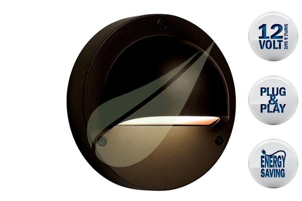 Kertbarátok Webáruház - TECHMAR Deimos Black fali lámpa