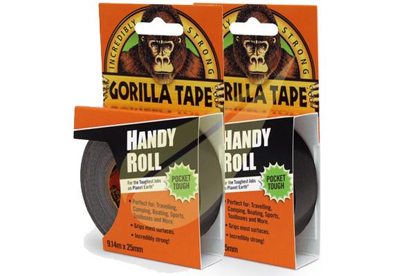 Kertbarátok Webáruház - GORILLA GLUE Duct Tape To Go 9x25 2db ragasztószalag