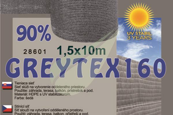 GreyTex árnyékoló háló 1,5x10m árnyékoló háló