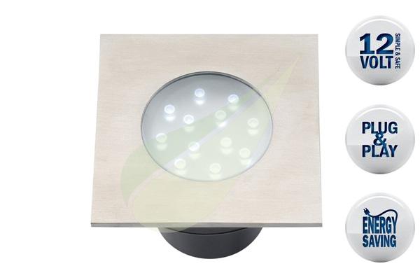 Kertbarátok Webáruház - TECHMAR Hybra beépíthető lámpa