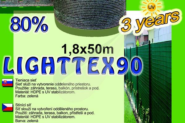 Kertbarátok Webáruház -  LightTex árnyékoló háló 1,8x50m árnyékoló háló