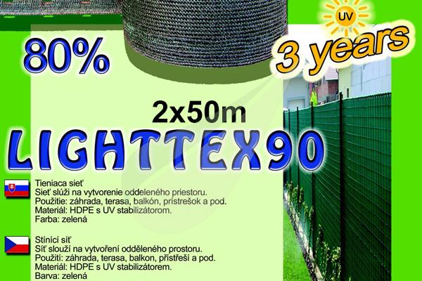 LightTex árnyékoló háló 2x50m árnyékoló háló