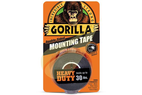 Kertbarátok Webáruház - GORILLA GLUE Mounting Black Tape 1,5x25 kétoldalas ragasztószalag