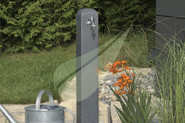 Kertbarátok Webáruház - PREMIERTECH AQUA Poller fekete gránit kerti kút