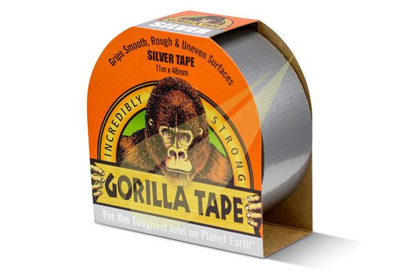 Kertbarátok Webáruház - GORILLA GLUE Gorilla Tape Silver ragasztószalag