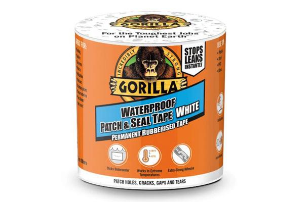 Gorilla Waterproof Tape fehér 3x100 vízálló ragasztószalag