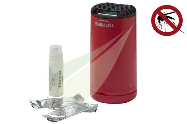 Kertbarátok Webáruház - THERMACELL Halo Mini asztali szúnyogriasztó, piros MR-PBR Thermacell készülék