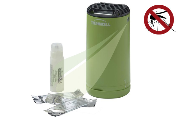 Kertbarátok Webáruház - THERMACELL Halo Mini asztali szúnyogriasztó, zöld MR-PBG Thermacell készülék