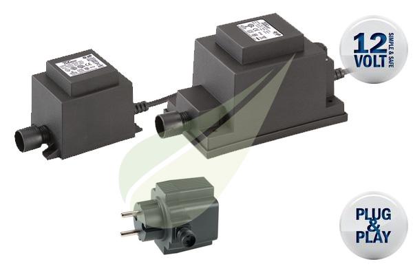 Kertbarátok Webáruház - TECHMAR GL Eco-Design 12V-os tranzformátor
